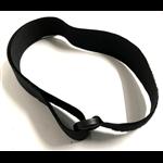 klittenband voor voetschalen, zwart, per paar